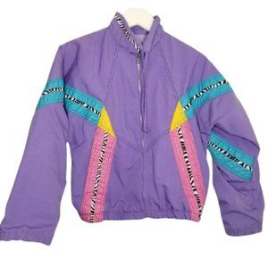 80s-90s Vintage Youth Jacket Winning Moves